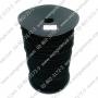 ยางยืด สีดำ แบบกลม 2.5 มิล ม้วนละ 144 หลา