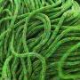 เชือกร่ม ถักกระเป๋า ดิ้นรุ้ง สีเขียว(หยก)