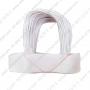 หูหิ้วถุงกระดาษ สีขาว